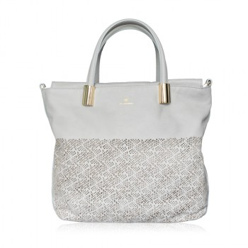 CLARISSA Leather Tote