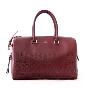 ADRINA Leather Duffle Bag