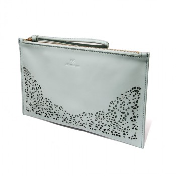 Floriana Nova zip clutch - mint